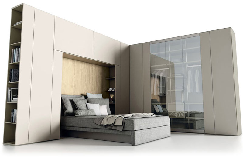 Roomy caccaro armadio battente arredamento - Caccaro mobili catalogo ...